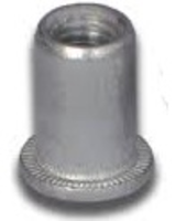 Aluminium  Flange Open End Rivet Nut