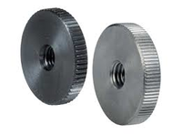 DIN 467 Thin Serrated Knurled Nuts