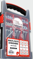 Bolts, Nuts & Washers Sets Zinc Plated